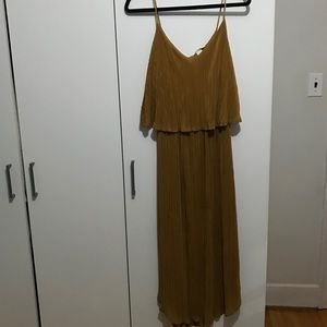 Mustard Yellow H&M Dress